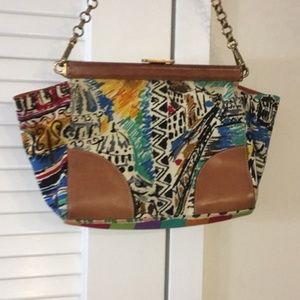 Prada Multi Color Shoulder Bag